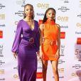 Le duo Chloe X Halle (composé des Chloe et Halle Bailey) à la 50ème soirée annuelle NAACP Image Awards au Dolby Theater à Los Angeles, le 30 mars 2019.
