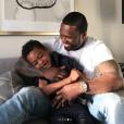 50 Cent et son fils Sire. Mars 2019.