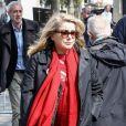 André Téchiné, Catherine Deneuve - Arrivées aux obsèques d'Agnès Varda au Cimetière du Montparnasse à Paris, le 2 avril 2019.