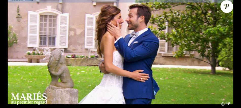 """Mariage pour Charline et Vivien dans """"Mariés au premier regard 3"""" - 11 mars 2019, sur M6"""