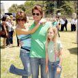 Lisa Rinna, son mari Harry Hamlin et une de leur filles au Time For Heroes Carnival, le week-end dernier