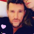Benjamin Castaldi et Aurore Aleman posent sur Instagram - 15 janvier 2019