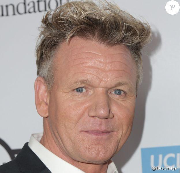 """Gordon Ramsay - People à la soirée de gala du 23ème """"Taste for a Cure"""" au Regent Beverly Wilshire Hotel à Beverly Hills. Le 27 avril 2018."""