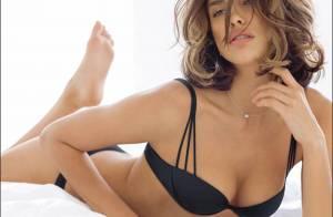 5de046358 La bombe russe Irina Sheik... sait mettre en valeur la lingerie comme  personne !
