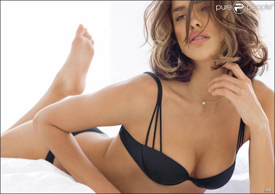 Irina Sheik pour la marque de lingerie italienne Intimissi Bar Refaeli Divorce