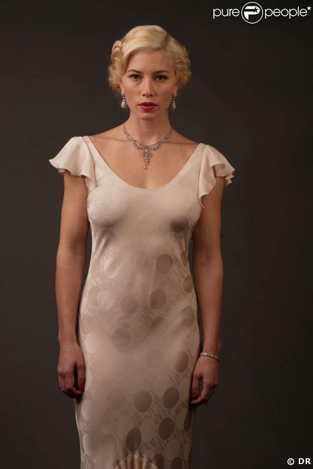 """Jessica Biel, lors du shooting promotionnel pour """"Un mariage de rêve"""" !"""