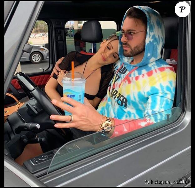 Nabilla Benattia et Thomas Vergara à West Hollywood - Instagram, 17 avril 2019