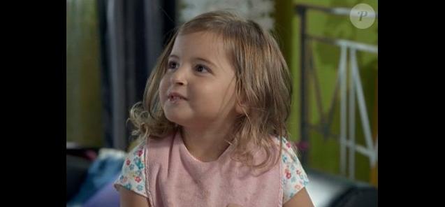 """Lucie Boher dans """"Plus belle la vie"""" sur France 3."""