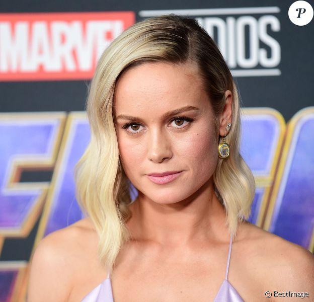 """Brie Larson - Avant-première du film """"Avengers: Endgame"""" à Los Angeles, le 22 avril 2019."""
