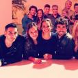 """Kevin Elarbi et le cast de """"Clem"""", un cliché posté le 18 septembre 2018 sur Instagram/"""