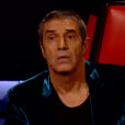 "Julien Clerc dans ""The Voice 8"" sur TF1, le 27 avril 2019."