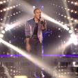 """Shaun dans """"The Voice 8"""" sur TF1, le 27 avril 2019."""