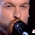 """Théophile Renier dans """"The Voice 8"""" sur TF1, le 27 avril 2019."""