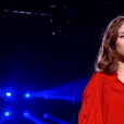 "Laura dans ""The Voice 8"" sur TF1, le 27 avril 2019."