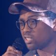 """Antso dans """"The Voice 8"""" sur TF1, le 27 avril 2019."""