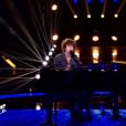 """Léonard dans """"The Voice 8"""" sur TF1, le 27 avril 2019."""