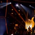 """Gilles San Juan dans """"The Voice 8"""" sur TF1, le 27 avril 2019."""