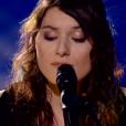 """Claire dans """"The Voice 8"""" sur TF1, le 27 avril 2019."""