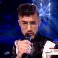 """Anto dans """"The Voice 8"""" sur TF1, le 27 avril 2019."""