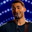 """Pierre Danaë dans """"The Voice 8"""" sur TF1, le 27 avril 2019."""