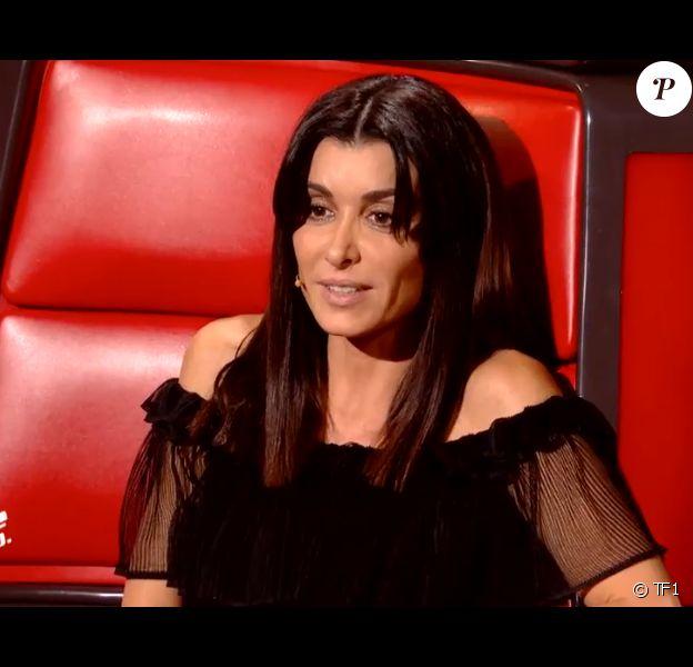"""Jenifer dans """"The Voice 8"""" sur TF1, le 27 avril 2019."""