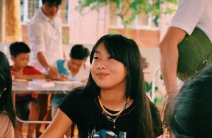 Jade Hallyday au Vietnam :