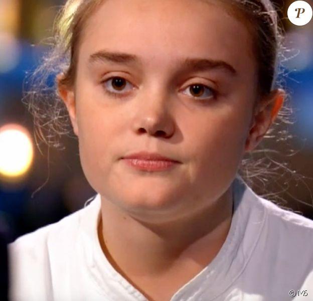 """Alexia lors de la demi-finale de """"Top Chef 10"""" mercredi 1er mai 2019 sur M6."""