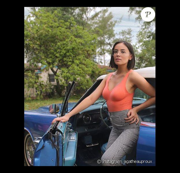 Agathe Auproux divine sur Instagram, 14 avril 2019