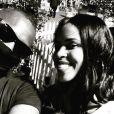 Idris Elba et Sabrina Dhowre au festival de Coachella en avril 2019, photo publiée par l'acteur.