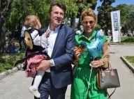 Laura Tenoudji et Christian Estrosi : 1er mai festif avec leur petite Bianca