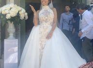 Manon Marsault mariée à Julien Tanti : sa sublime robe de mariée en photos