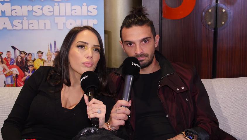 """Manon Marsault et Julien Tanti des """"Marseillais"""" répondent aux questions de """"Purepeople"""" - 13 février 2019"""