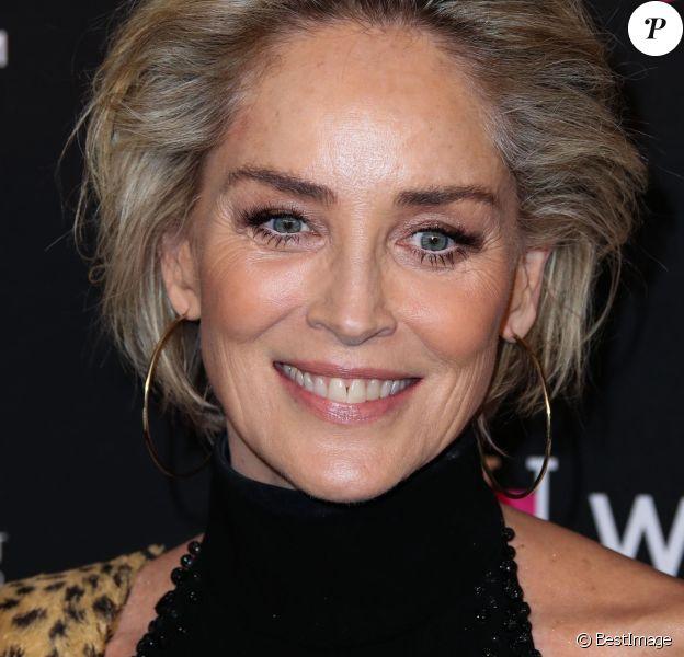 """Sharon Stone - Soirée """"Women's Cancer Research Fund"""" à Beverly Hills le 28 février 2019."""