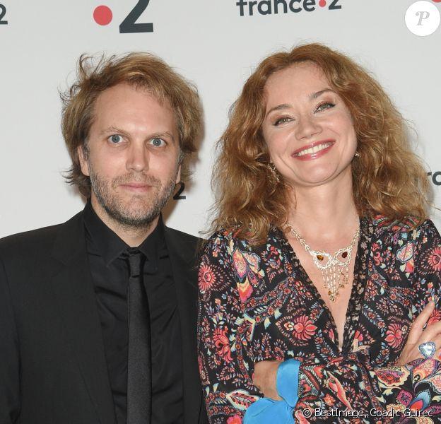 Florian Zeller et sa femme Marine Delterme - 30ème cérémonie des Molières 2018 à la salle Pleyel à Paris, France, le 29 mai 2018. © Coadic Guirec/Bestimage
