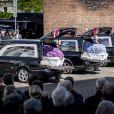 Image des obsèques de trois des quatre enfants - Alfred, Alma et Agnes - de l'homme d'affaires danois Anders Holch Povlsen, le 4 mai 2019 à la cathédrale d'Aarhus, tués à Colombo au Sri Lanka dans les attentats du 21 avril 2019.