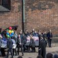 Obsèques de trois des quatre enfants de l'homme d'affaires danois Anders Holch Povlsen, le 4 mai 2019 à la cathédrale d'Aarhus, tués à Colombo au Sri Lanka dans les attentats du 21 avril 2019.