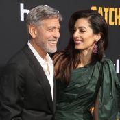 George Clooney : Première réaction sur le royal baby et soirée glamour avec Amal