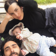 Maude, Anthony et leur fille Indie - Instagram, 22 avril 2019