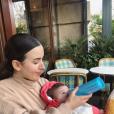 Maude et sa fille Indie - Instagram, 3 mars 2019