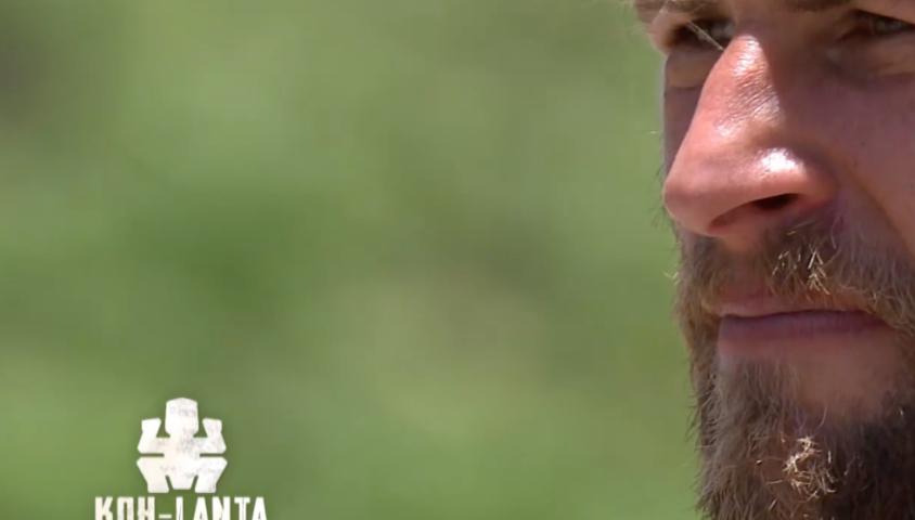 "Nicolas dans ""Koh-Lanta, la guerre des chefs"", vendredi 10 mai 2019 sur TF1."