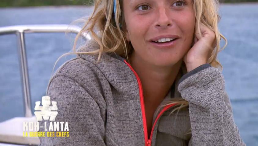 """Cindy dans """"Koh-Lanta, la guerre des chefs"""", vendredi 10 mai 2019 sur TF1."""