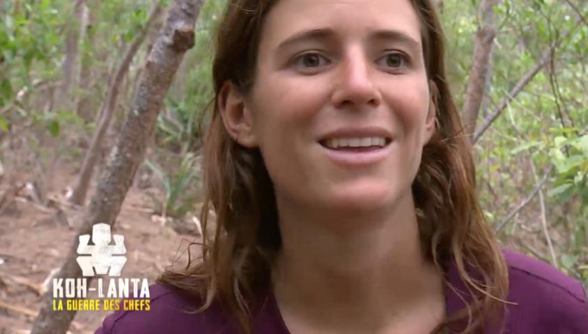 """Clo dans """"Koh-Lanta, la guerre des chefs"""", vendredi 10 mai 2019 sur TF1."""