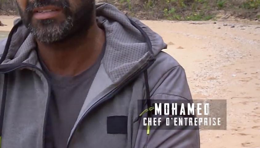 """Mohamed dans """"Koh-Lanta, la guerre des chefs"""", vendredi 10 mai 2019 sur TF1."""