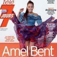 """Amel Bent en couverture du magazine """"Télé 7 Jours"""", programme du 18 au 24 mai 2019."""