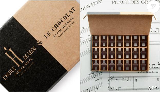 Le Chocolat Alain Ducasse & L'huile H de LEOS Patrick Bruel - disponibles en édition limitée depuis le 3 mai 2019