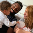 Ariane Brodier est maman pour la deuxième fois. Voici les photos de famille. Le 26 avril 2019.