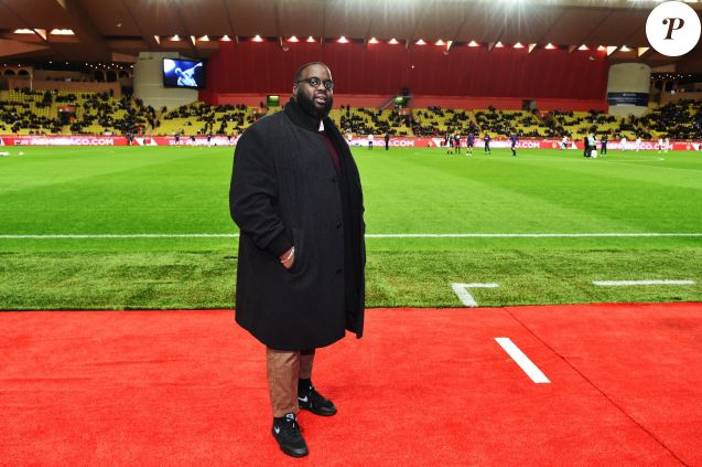 Issa Doumbia durant le match de football de Ligue 1 opposant Monaco à Paris Saint Germain au stade Louis II de Monaco le 11 novembre 2018. Une fois de plus les monégasques se sont inclinés en perdant la rencontre par 4 buts à 0. © Bruno Bebert/Bestimage