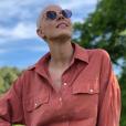 Fanny Leeb prend la pose sur son compte Instagram, le 15 mai 2019