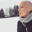 Fanny Leeb prend la pose sur Instagram, le 9 février 2019