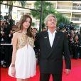 Alain Delon avec sa fille Anouchka lors du Festival de Cannes 2007